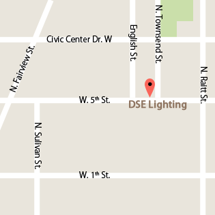 DSE Lighting map