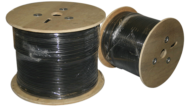 Low voltage wire for landscape lights